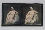 naken kvinna dagurerrotyp från ca 1844-1854